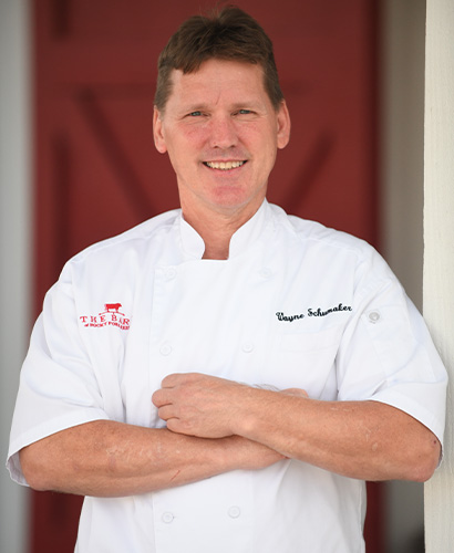 Wayne Schumaker, Executive Chef at The Barn