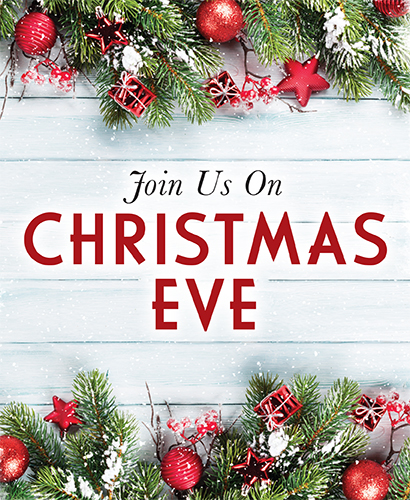 Join us on Christmas Eve